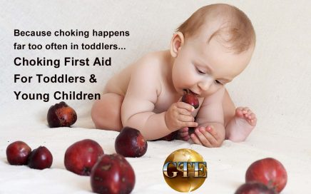 Choking First Aid for Toddlers