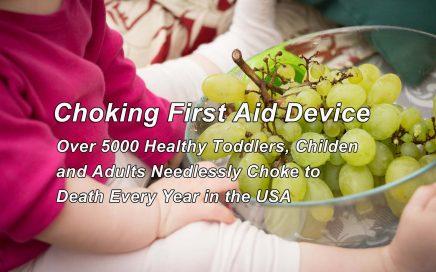 Choking First Aid Device - The Dechoker